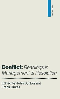 Conflict: Readings in Management and Resolution