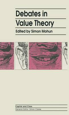 Debates In Value Theory