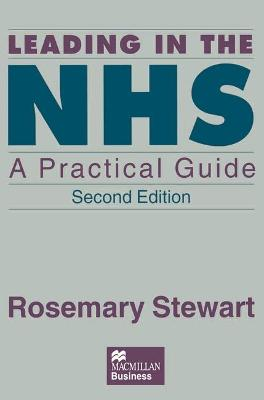 Leading in the NHS: A Practical Guide