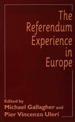 The Referendum Experience in Europe