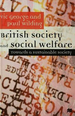 British Society and Social Welfare: Towards a Sustainable Society