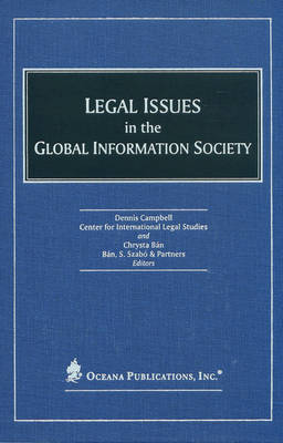 Legal Issues in the Global Information Society