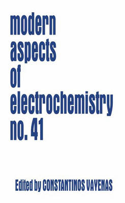 Modern Aspects of Electrochemistry 41