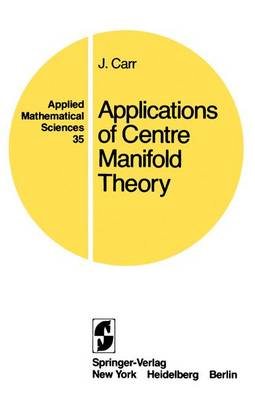 Applications of Centre Manifold Theory
