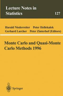 Monte Carlo and Quasi-Monte Carlo Methods 1996: Proceedings of a Conference at the University of Salzburg, Austria, July 9-12, 1996