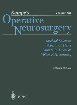 Kempe's Operative Neurosurgery: Cranial, Cerebral, and Intracranial Vascular Disease: v. 1