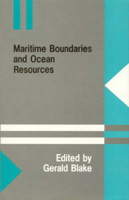 Maritime Boundaries and Ocean Resources