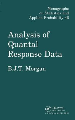 Analysis of Quantal Response Data