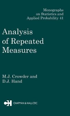 Analysis of Repeated Measures