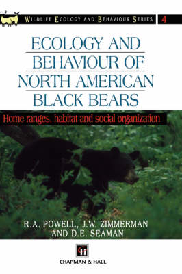 Ecology and Behaviour of North American Black Bears: Home Ranges, Habitat and Social Organization