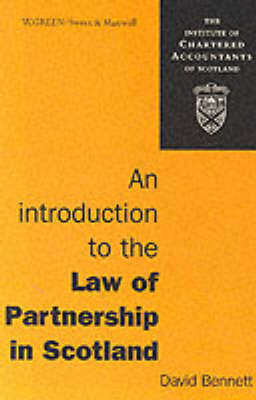 An Introduction to the Law of Partnership in Scotland