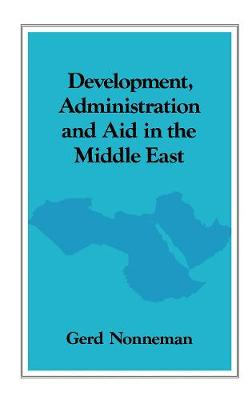 Development, Administration and Aid in the Middle East