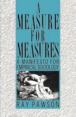 Measure for Measure: Manifesto: A Manifesto for Empirical Sociology