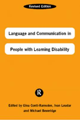Language and Communication in People with Learning Disabilities