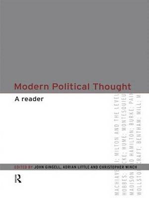 Modern Political Thought: A Reader
