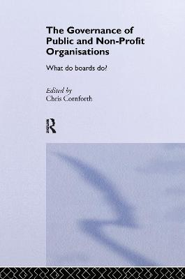 The Governance of Public and Non-profit Organizations