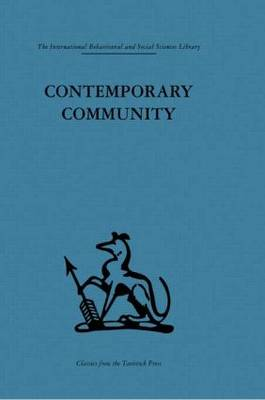 Contemporary Community: Sociological illusion or reality?