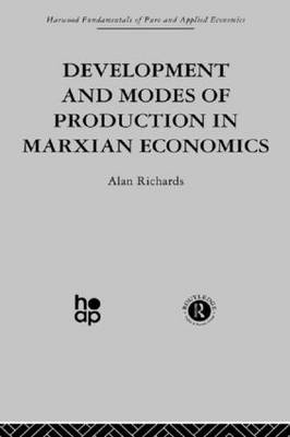 Development and Modes of Production in Marxian Economics: A Critical Evaluation