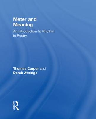 Meter and Meaning: An Introduction to Rhythm in Poetry