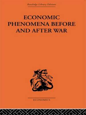 Economic Phenomena Before and After War: A Statistical Theory of Modern Wars