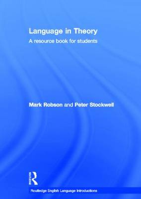 Language in Theory: A Resource Book for Students