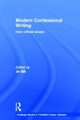 Modern Confessional Writing