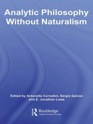 Analytic Philosophy Without Naturalism