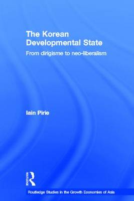 The Korean Developmental State: From dirigisme to neo-liberalism