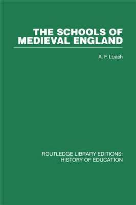 The Schools of Medieval England