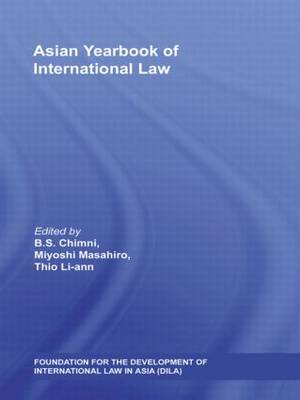 Asian Yearbook of International Law: Volume 13