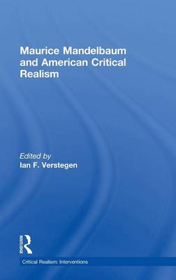 Maurice Mandelbaum and American Critical Realism