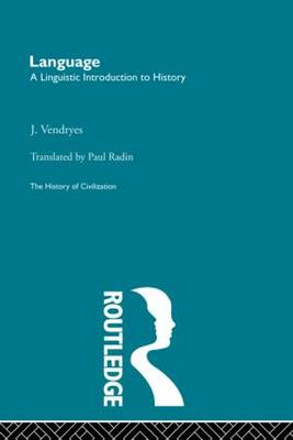 Language: A Linguistic Introduction to History