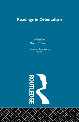 Readings Orient: Orientalsm: Volume 1