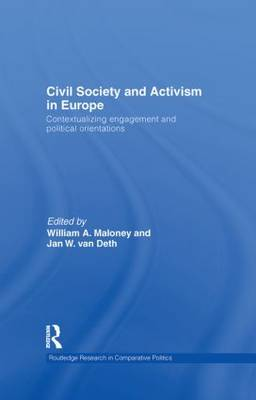 Civil Society and Activism in Europe: Contextualizing engagement and political orientations