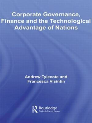 Corporate Governance, Finance and the Technological Advantage of Nations