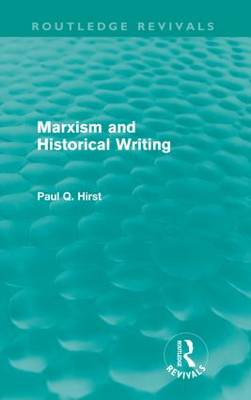 Marxism and Historical Writing