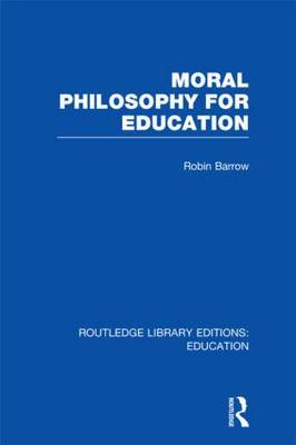 Moral Philosophy for Education