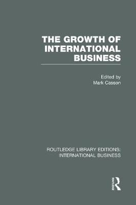 The Growth of International Business