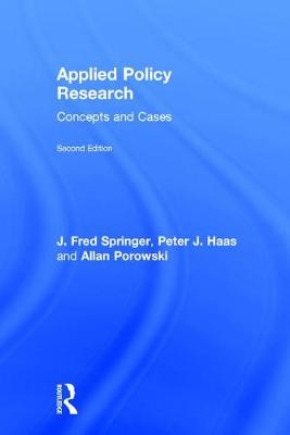Applied Policy Research: Concepts and Cases