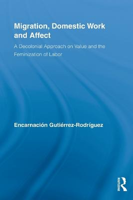 Migration, Domestic Work and Affect: A Decolonial Approach on Value and the Feminization of Labor