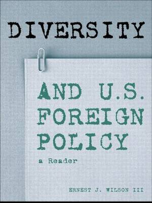 Diversity and US Foreign Policy: A Reader
