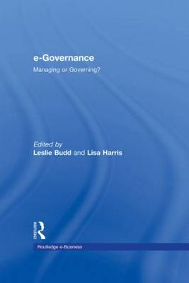 e-Governance: Managing or Governing?