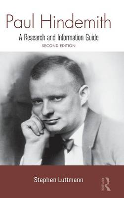 Paul Hindemith: A Research and Information Guide