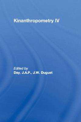 Kinanthropometry IV: International Congress on Youth, Leisure and Physical Activity : Papers: v.4