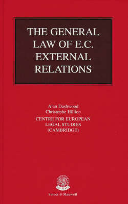 The General Law of EC External Relations