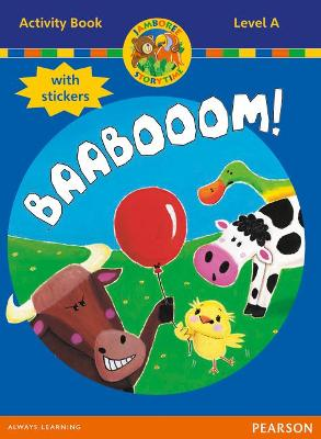 Jamboree Storytime Level A: Baabooom Activity Book with Stickers