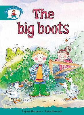 Literacy Edition Storyworlds Stage 6, Our World, The Big Boots