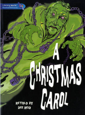 Literacy World Satellites Fiction Stage 4 Guided Reading Cards: A Christmas Carol Framework 6 Pack