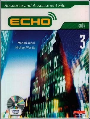 Echo 3 Green Resource and Assessment File (2009)