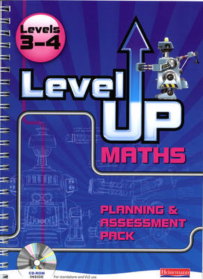 Level Up Maths: Access Teacher Planning and Assessment Pack (Level 3-4)